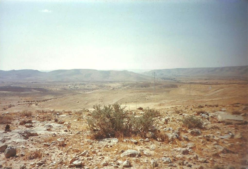 Desert close to Dimona